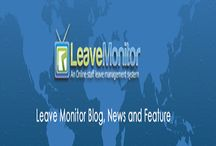 Leave Tracking System / Get online leave tracking system at leave Monitor. Get  quality work with proper monitoring management over each and every employee working in your organization.  Click here: http://bit.ly/1VywzSs