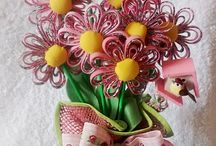 Flores e Borboletas de Viés