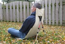 Vikbara stolar
