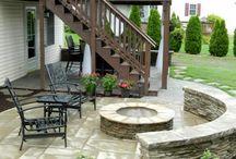 Under deck - patio ideas