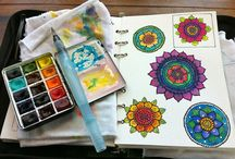Sketch Kits / Sketch kit ideas...either I'm packing to much or not enough.  / by Moon Stumpp