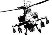 Heliocopter / о вертолетах, силуэтное вырезание