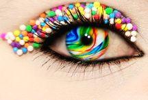 my crazy lookjng contacts