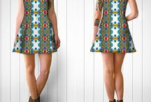 Flare Dresses / A perfect combination of print, fashion, fabric and versatility make our custom printed dress long lasting, comfortable, and versatile. Fine Art Photography turned into custom dresses
