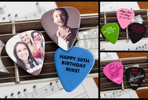 """Music / Check out all our personalized gifts that are perfect for anyone who plays music, teaches music or even just loves to listen! As a """"Thank You"""" for following us, use code PMALLPINS at checkout to get free shipping on orders of $65 or more! / by PersonalizationMall.com (PMall.com)"""