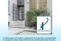 AQUAPOL: GALLERIA D'ARTE HERNANDEZ DEUMIDIFICATA / GALLERIA D'ARTE HERNANDEZ DI MILANO COMPLETAMENTE DEUMIDIFICATA DAL DISPOSITIVO AQUAPOL