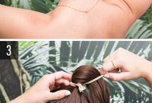 Hair dress makeup