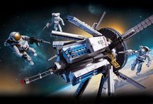 Building in Space With Mega Bloks