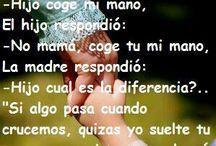 Frases hermosas para mamá!