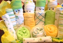 Diaper Cakes / by Bobby Hook