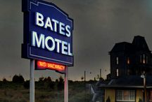 Bates Motel / Psycho House / I've been a huge fan of Hitchcock and especially 'Psycho' for many years, and am fascinated by the Psycho house and motel. Now with the new television series, comparisons can be made - just how true was the art department to the original sets? All in all, pretty true! #batesmotel #psycho #hitchcock