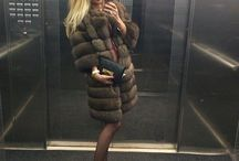 Classy selfie / Selfies and #fur #fashion