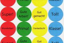 Deutschunterricht MM / Németen használható dolgok...
