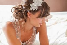 Bridal Accessories / Pretty accessories for the bride and groom.