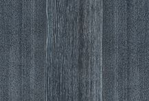 DENIM natural wood floors / Unique DENIM finishing renders the very top layer of GREY color bog oak wood floor into distinctive bluish color.  No paint, nor dye, nor stain used.