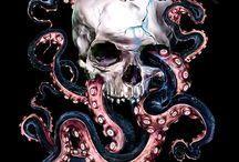 Skulls and drawings / Skullssss!