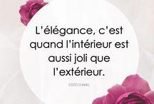 Citations / Hanael Couture vous présente les citations qui l'inspire au quotidien