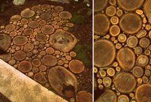 Pavers - Wood (slices)