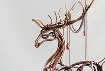 sculpture wire art