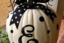 Fall & Halloween / Ideas for fun and decorating and food and all things fall and halloween.