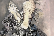 fashion illustrations and paintings  / illustration by maggie piu