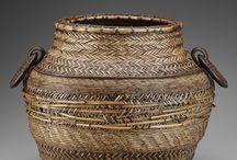 Baskets / fiber / by Lou Segatte