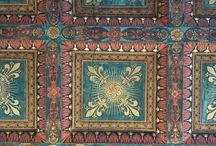 Florence, Italy, decorated ceilings