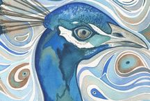 Watercolours that float me away / Watercolour paintings that I love- a source of inspiration