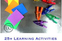Learning activities for toddlers and preschoolers
