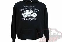 T-shirt e felpe West Side Garage / T-shirt e felpe biker prodotte da West Side Garage