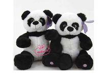 Peluş sesli konuşan panda 35 cm