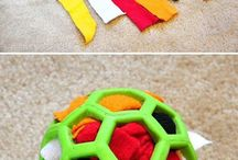 Fun for dogs / Loads of ideas to keep our puppies and active dogs busy