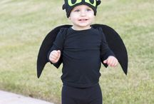 Halloween toddler dragon costume