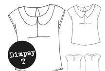 Dimpsy T / The new Sewing Pattern from Laura After Midnight. Buy your copy here: https://www.etsy.com/listing/224720970/t-shirt-sewing-pattern-the-dimpsy-t?ref=ss_listing