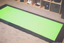 carpet to exercise surface
