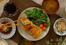 okazu recipe / 揚げない油揚げメンチ
