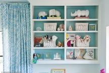 Shelves for Ollie's room