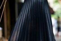 Straight dark cool bright skirts