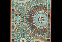 Mozaika stoly