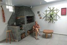 Arte Gaudério / decoração e design em troncos de árvores