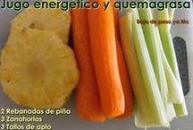 Alimentos y jugos