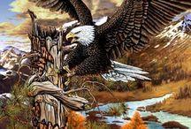 Tattoo eagles