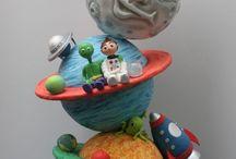 gâteau planète