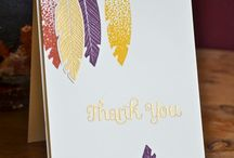 Stampin' Up! - Four Feathers