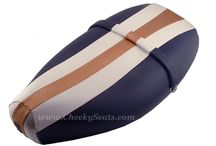 Vespa ET2 ET4 Scooter Seat Covers / Revive your classic ET scooter with a new seat cover!  Check out our website to see lots more options, choose your own fabric and more!