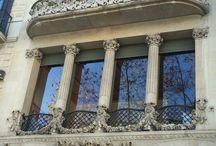 Gótico y Modernismo a través de las ventanas / Diferentes tipos de ventanas modernistas y góticas