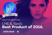 LNE & Spa Best 2016 / we are launching open voting for our LNE & Spa BEST 2016 and we'd love for you to let your voice be heard by voting for the products and equipment in our industry you truly feel are best. www.lneonline.com/lne-spa-best