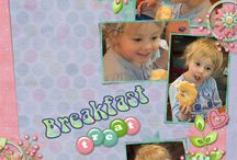 """Sweet Treats Digital Scrapbooking Collection by Kathryn Estry / """"Kits 4 Kids"""" is a partnership between Kathryn Estry and Kristmess to bring you kits just perfect for kids.  Candies and springtime, a great combination!  Have fun with this sweet collection, and as always, save with the Bundle!"""
