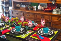 Dishes, China / Table Setting