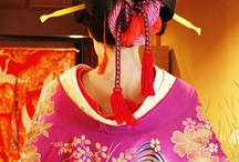Japanese Oiran & Geisha hair and makeup